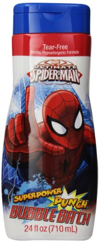 Marvel Spider Man Bubble Bath, 24 Ounce - 1