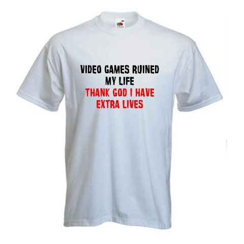 Video Games Ruined My Life - Video Games T-Shirt