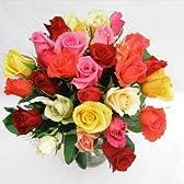 華やかなバラの花束 30本 【生花】 【お祝い】【記念日】【誕生日】【フラワーギフト】【バラ】