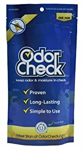 Odor Check Natural Odor & Moisture Control for Shoes & Sporting Equipment