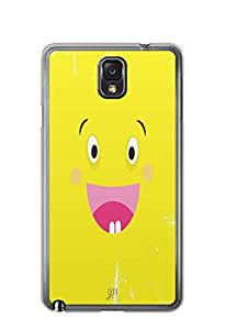 YuBingo Excited Smiley Mobile Case Back Cover for Samsung Note 3