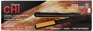 CHI Ceramic Hairstyling Iron, 1 Inch, 1.36 lb.