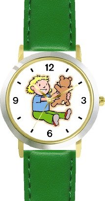 Teddy Bear  Blond Child - Bear Animal - WATCHBUDDY®