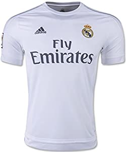 adidas Real Madrid Home Soccer Jersey 2015/16 (White) X-Small