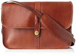 Jack Georges Messenger Bag, Cognac, One Size