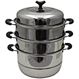 Concord 4 Tier Stainless Steel Steamer Cookware Pot (32 CM)