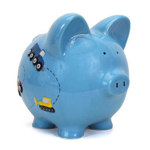Child to Cherish Construction Piggy Bank, Truck Room - 1