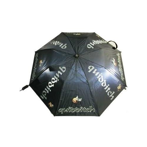 Amazon.com: Quidditch Umbrella with Golden Snitch Harry Potter