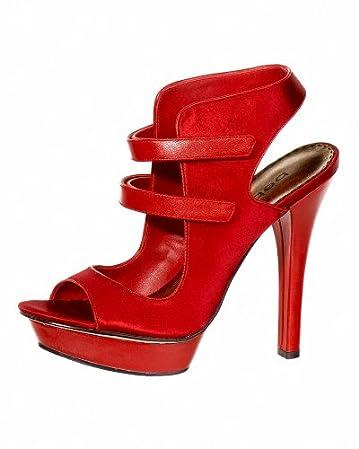 Tanya Satin Double Velcro Sandal