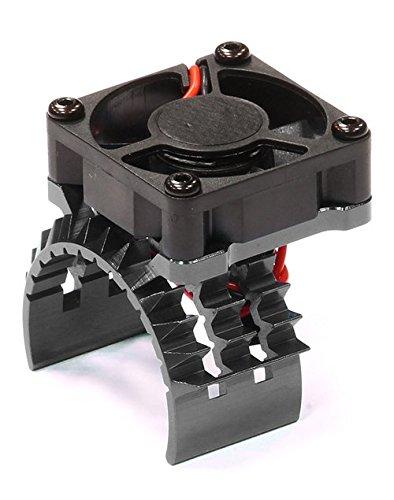 integy-rc-hobby-t8635grey-t2-motor-heatsink-w-cooling-fan-for-traxxas-1-10-stampede-4x4-slash-4x4