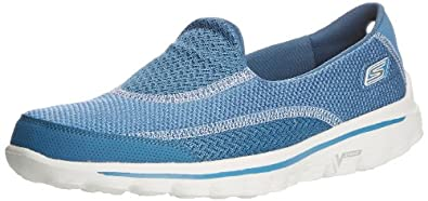Skechers Gowalk 2 Spark, Women Athletic Sandals, Blue (Blu), 3 UK (36 EU)