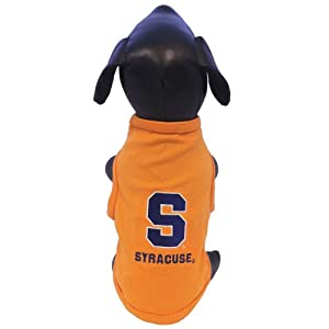 NCAA Syracuse Orange Cotton Lycra Dog Tank Top, X-Small by All Star Dogs