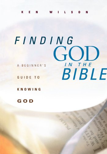 Finding God In The Bible: A Beginner'S Guide To Knowing God front-327624