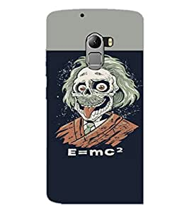 PrintDhaba Funny Image D-3727 Back Case Cover for LENOVO K4 NOTE A7010a48 (Multi-Coloured)