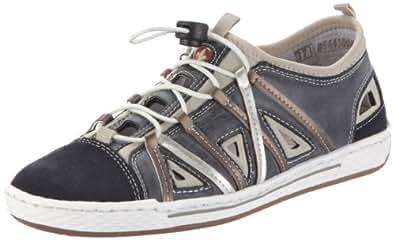 Rieker L3087, Damen Sneakers, Blau (pazifik/atlantic/beige/oro/silver / 14), 36 EU (3.5 Damen UK)