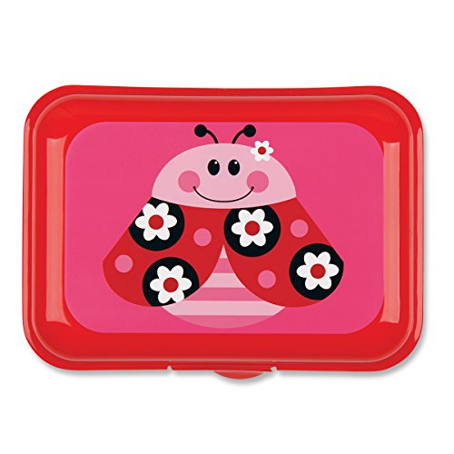 Stephen Joseph Ladybug Snack Box, Red