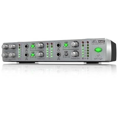 Behringer AMP800 Four Channel Headphone Amp from Behringer USA