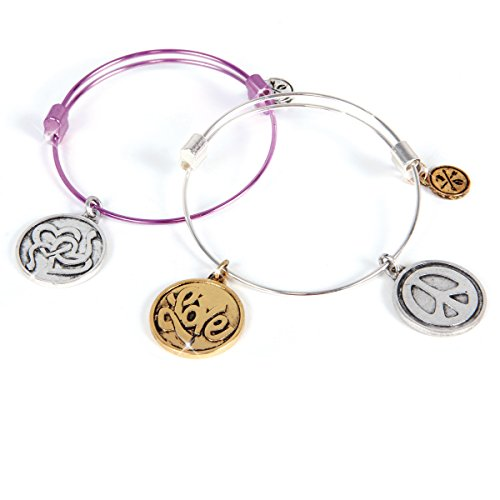 Charmazing Let's Get Started Bracelets - Heart Collection 2