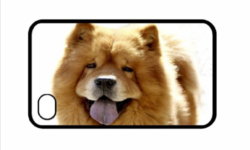 chow-chow-perro-iphone-4-4s-negro-cubierta-72