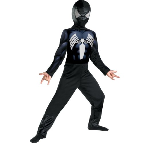 Black-Suited Spider-Man Kids Costume