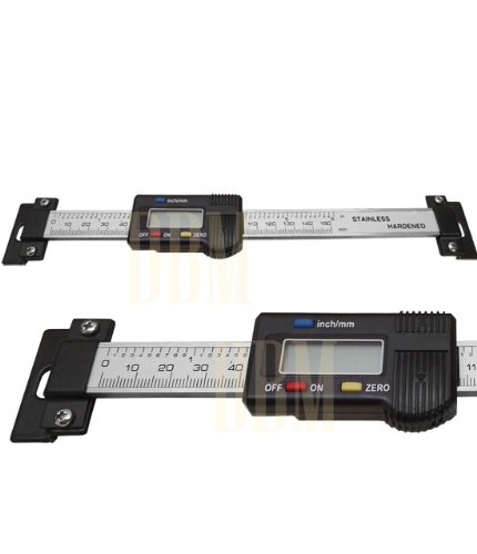 Electronic 6 Digital Read Scale Ruler Caliper Dro Quill