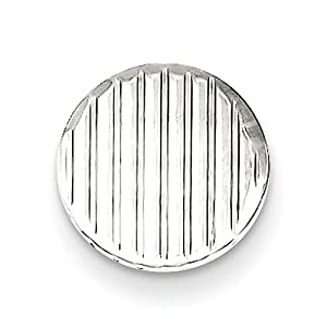 Gift and Jewels - Tie- TAC en argent sterling - Largeur 10,00 mm