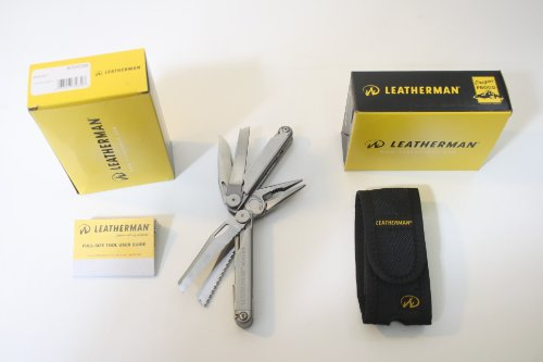 Leatherman 830038 New Wave Multi-Tool With Nylon Sheath front-1038328