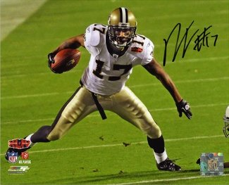 Robert Meachem Autographed/Hand Signed New Orleans Saints 16x20 Photo (Super Bowl XLIV)- Meachem Hol at Amazon.com