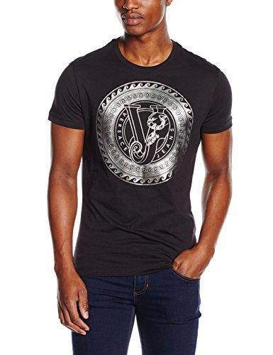 Versace Jeans - EB3GNB744_E36590, Maglietta da uomo, nero-e899, XL