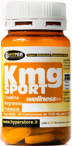1 packung kmg sport 60 tabletten 78gr formulierung mit magnesium kalium creatin ideal f r. Black Bedroom Furniture Sets. Home Design Ideas