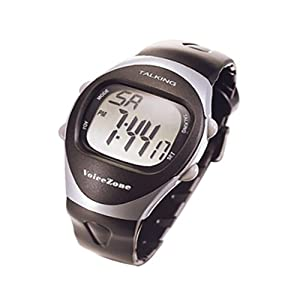 4 Alarm Talking Stopwatch-Black - Mens from Active Forever
