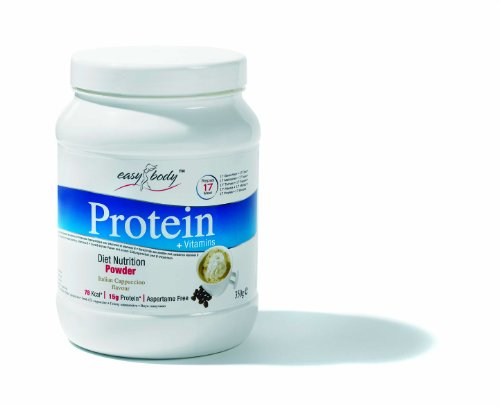 Easy Body Protein 350 g Cappuccino Weight Loss Support Shake Powder
