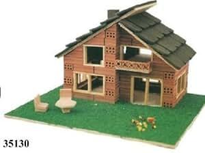 Model Kit House 2 Floors Of Brick Construction Keranova