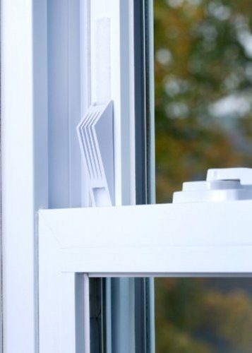 (1) Cresci Products Window Wedge (2 Per Pack) WHITE color (Window Safety Locks compare prices)