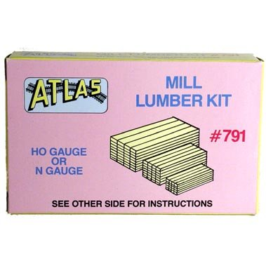 Mill Lumber HO Scale Atlas Trains - 1