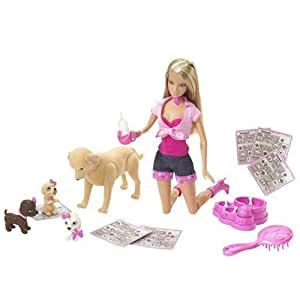 BARBIE Taffy & Puppies