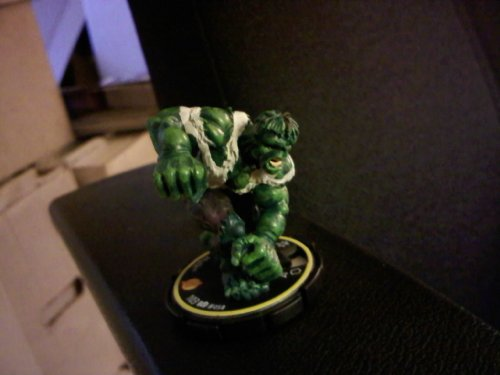 2003 - Wiz Kids Llc / Marvel - Hero Clix - The Hulk Figure - 103/ 058 - Yellow Ring - Limited Edition - New - Selaed - Collectible back-894821