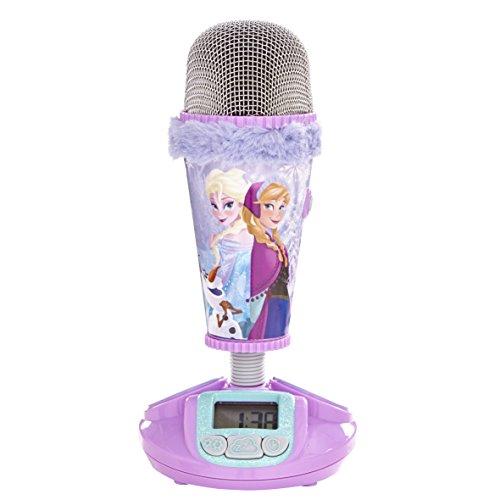 Worlds Apart - 865517 - Microphone et réveil - La Reine des neiges - Disney - 2 en 1 - Rose