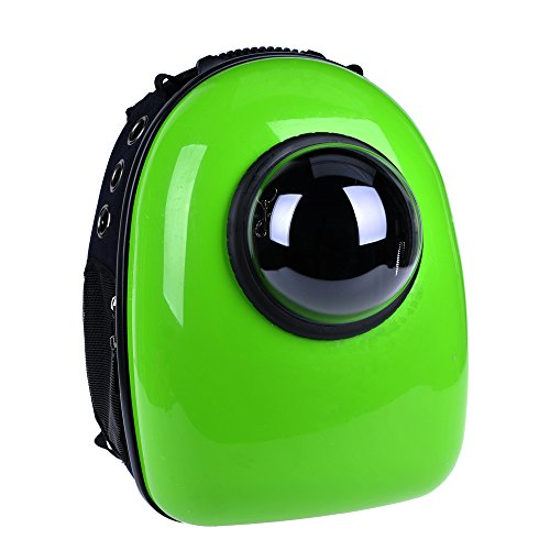 U-pet Innovative Patent Bubble Pet Carriers, Green