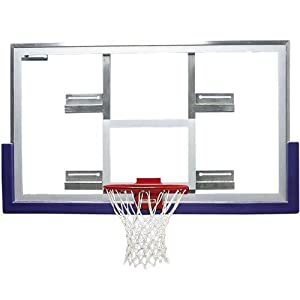 Basketball Backboard with Steel Conversion Frame & Hardware by Athletic Connection