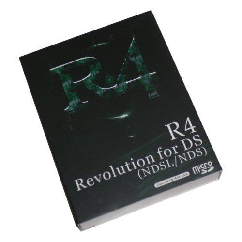 【新型シェル】R4 DS (英語版) ニンテンドーDS専用 マルチメディアプレイヤー