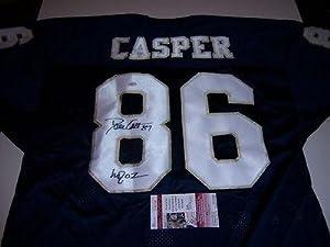 Signed Dave Casper Jersey - Notre Dame Fighting Irish Jsa coa - Autographed NFL... by Sports+Memorabilia