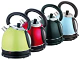 Retro Design Wasserkocher Edelstahl elektrischer Teekessel 1