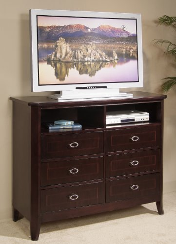 Cheap Somerton 411A95 Crossroads 50″ TV Stand in Rich Cherry (411A95)