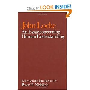 locke essay concerning human understanding outline
