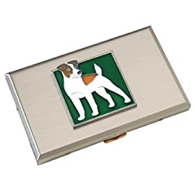 Jack Russell Terrier Credit Card Case