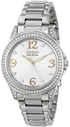 "Citizen Women's EM0230-50B ""Drive From Citizen"" Stainless Steel Eco-Drive Watch"