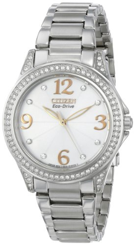 """Citizen Women'S Em0230-50B """"Drive From Citizen"""" Stainless Steel Eco-Drive Watch"""