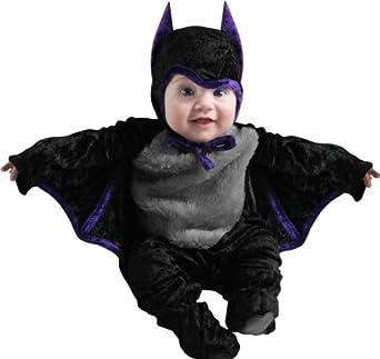 Cute Infant Bat Baby Halloween Costume, 12-18 Months