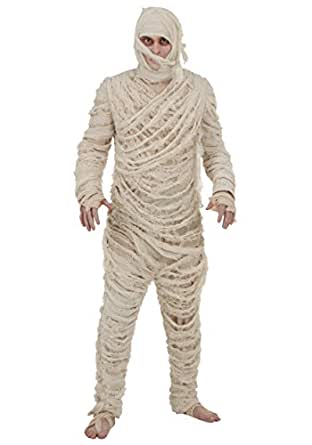 Fun Costumes mens Plus Size Men's Mummy Costume